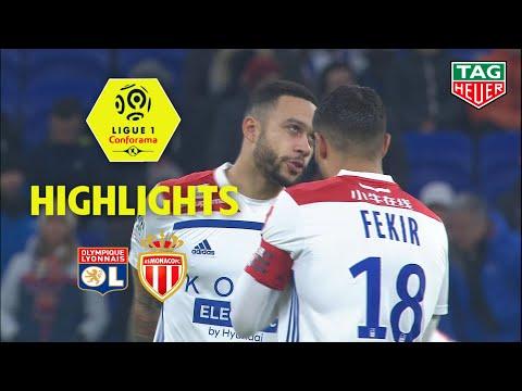 Olympique Lyonnais - AS Monaco ( 3-0 ) - Highlights - (OL - ASM) / 2018-19