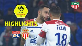Olympique Lyonnais - AS Monaco ( 3-0 ) - Highlights - (OL - ASM) / 2018-19