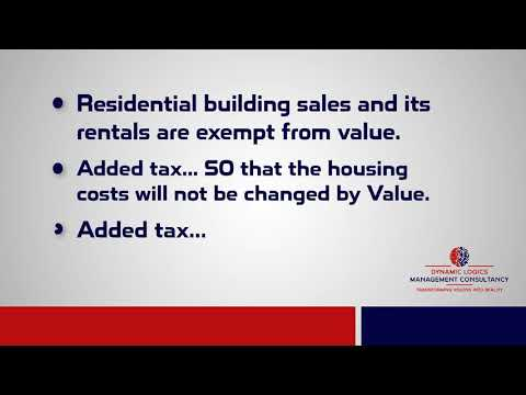 Value added tax for Real estate sector in UAE