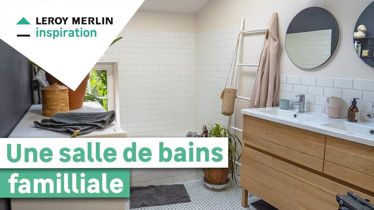 La Salle De Bain Lumineuse Et Familiale De Lois Moreno Le Style Made In Youtube