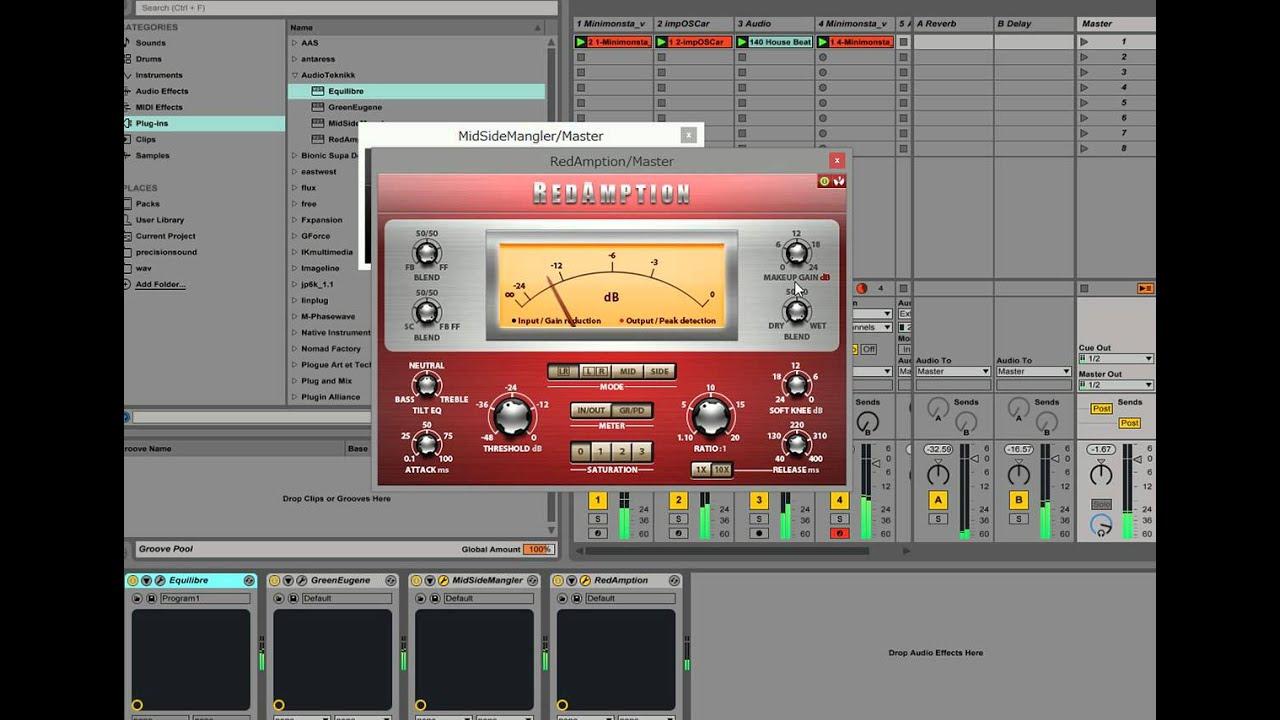 AudioTeknikk VST plug-ins by Dennou Cocoon