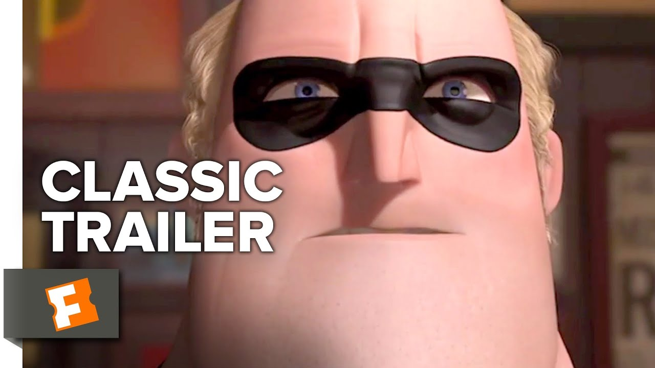 Download The Incredibles (2004) Trailer #1 | Movieclips Classic Trailers