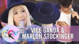 Vice touches Marlon's sexy abs | GGV