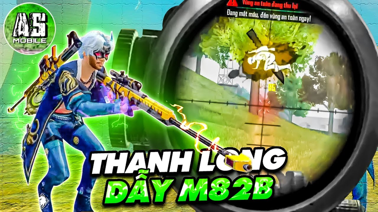 [Free Fire] Cùng Trang Phục Thanh Long AS Vẩy M82B Như Cái Máy | AS Mobile