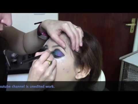 Illusionz Salon Sheffield - Sara & Family Baraat Hair & Make-Up Video