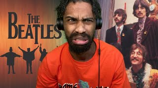 The Beatles - While My Guitar Gently Weeps REACTION (THIS IS RIDICULOUS THIS CAN'T BE REAL)