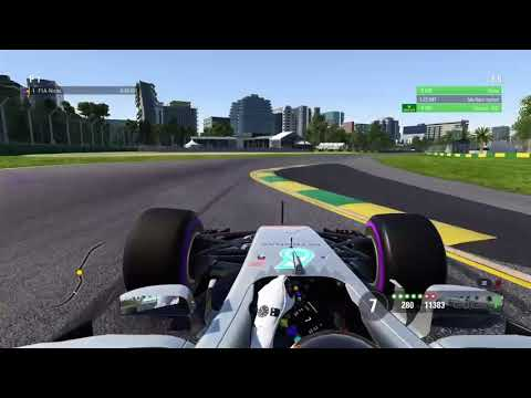 F1 2017 - Australia Hotlap 1:21.763 + Setup (No Assist)