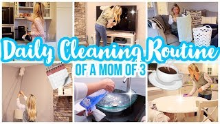 CLEAN WITH ME 2019 //DAILY CLEANING ROUTINE OF A MOTHER // CLEANING MOTIVATION + USING HiSmile