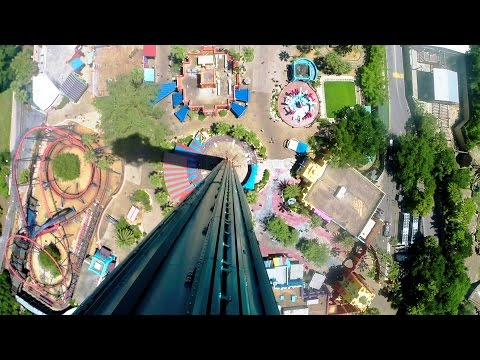 Falcon's Fury on-ride HD POV @60fps Busch Gardens Tampa
