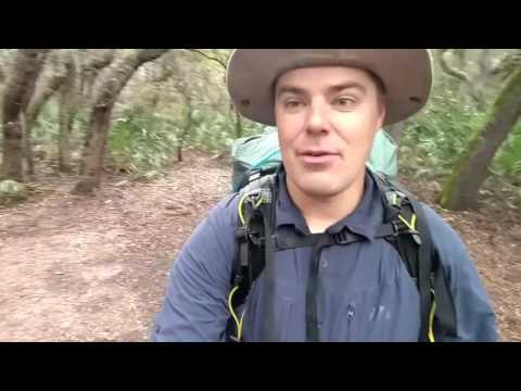 Backpacking on Cumberland Island in Georgia