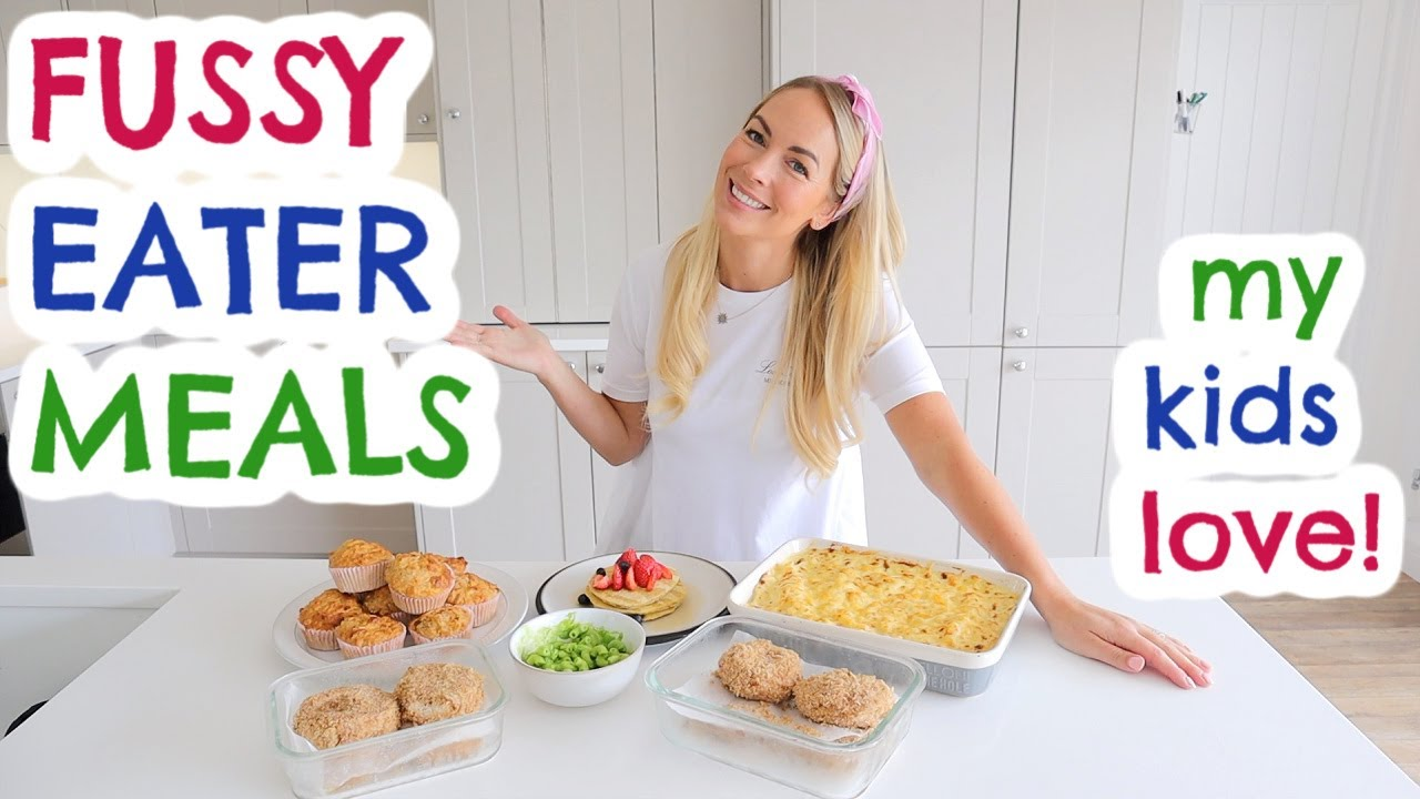 Meals Fussy Eaters Will Love 9 Picky Eater Kids Meal Ideas Emily Norris Youtube