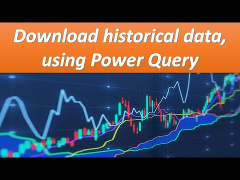 Download historical prices for any publicly traded company using Power Query