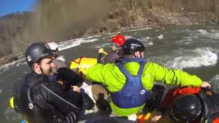 Ocoee River rafting in January.