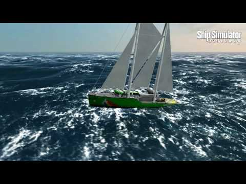 Ship Sim Extremes - Greenpeace missions gameplay trailer