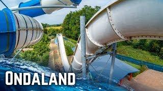HUGE WATERPARK IN ITALY: Ondaland Acquapark (All Slides POV)