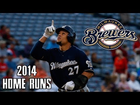 Milwaukee Brewers | 2014 Home Runs (150) ᴴᴰ