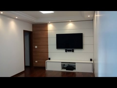 Sala home theater racks e pain is de tv 39 s youtube - Sala home theatre ...
