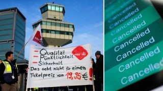 Berlin airport strike causes hundreds of cancelled flights