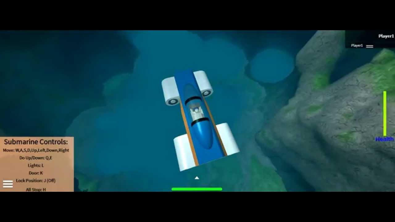 Roblox Smooth Terrain and Innovation Inc Submarines