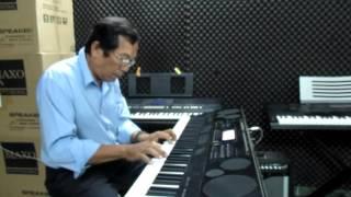 TRO VE DONG SONG TUOI THO  nhac HOÀNG HIỆP piano  VÕ QUỐC ĐẠT