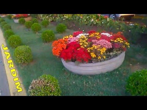 FLORES LINDAS NA DECORAÇÃO DE JARDIM ❀ GARDEN DECORATION WITH FLOWERS ❀  YOUTUBER MARLI MAIA ❀ Part 69