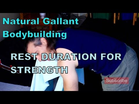 Rest Duration for Strength in Your Natural Bodybuilding Program
