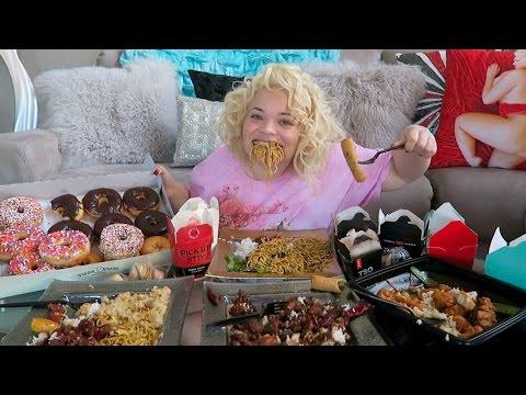 HUGE CHINESE TAKEOUT EATING SHOW (MUKBANG) | WATCH ME EAT