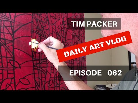 Starting With The Sun - Daily Art Vlog - Episode 062
