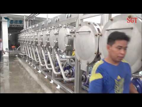 Potato starch production line from SGT