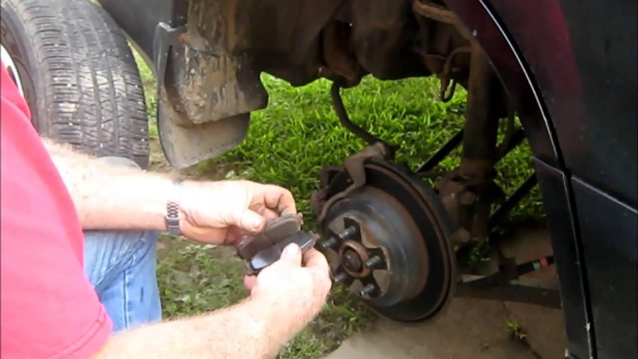 Subaru Tribeca 2016 >> Installing rear brake pads on 2004 Subaru Forester - YouTube