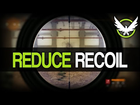 The Division - How To Reduce Weapon Recoil (Stability Explained)