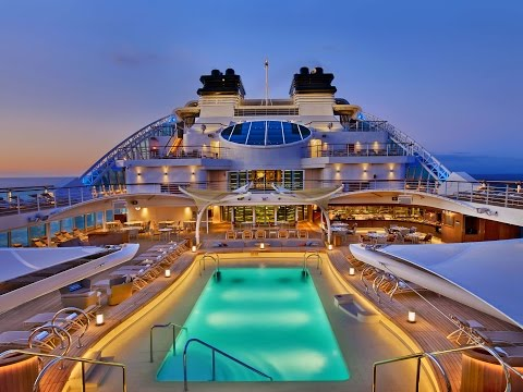 We stepped on board the newest luxury cruise ship on the high seas