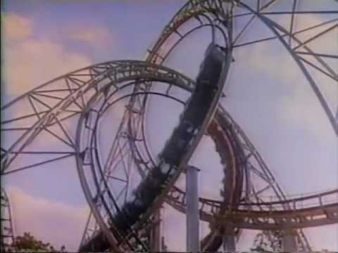 Six Flags Great Adventure Rolling Thunder 1979 TV commercial
