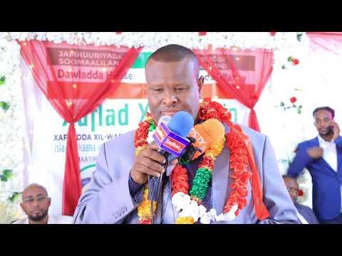 Download Mayorka Kii Hore Degmada Salaxlay ayaa Xilkii Wareejiyay