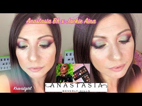GRWM Anastasia bh x Jackie Aina! 🦄😍🙌🏻🔝Kravistgirl thumbnail