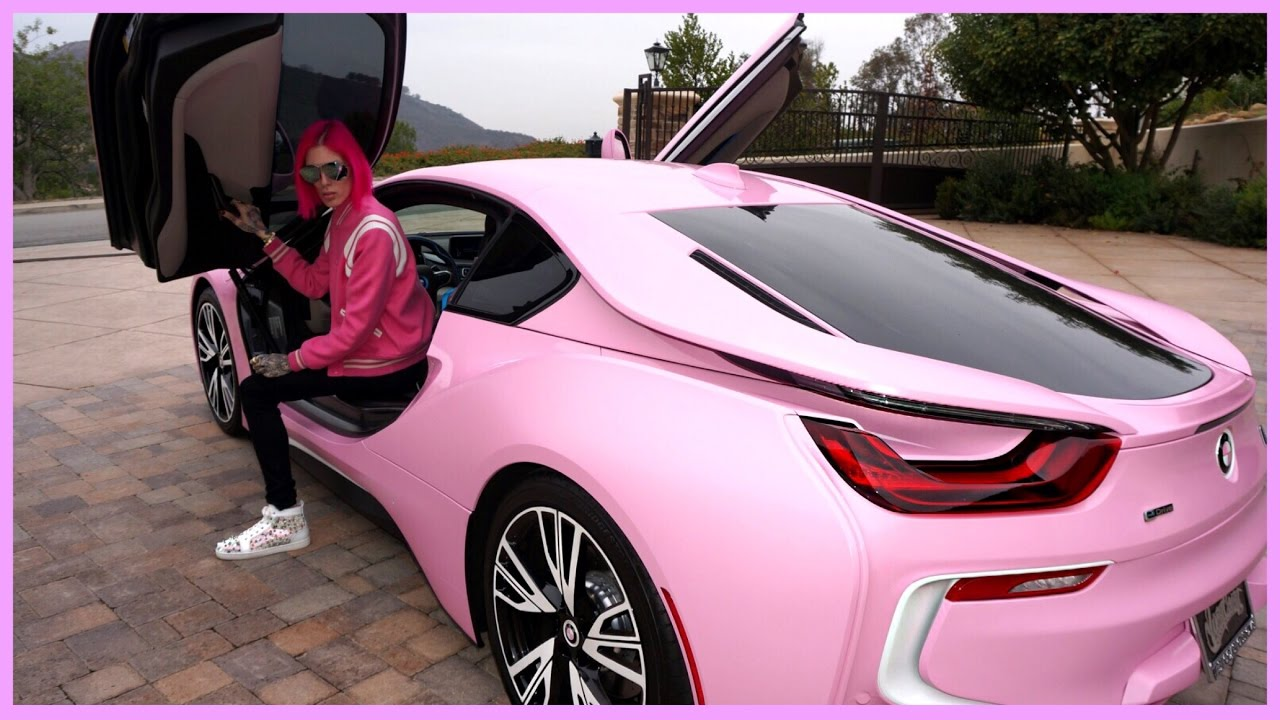 My New Barbie Bmw I8 Jeffree Star 4k Ultra Hd Youtube