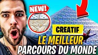 LE MEILLEUR PARCOURS IMPOSSIBLE DU MONDE, JE TEST VOS MAPS #0 : MODE CREATIF FORTNITE Saison 7