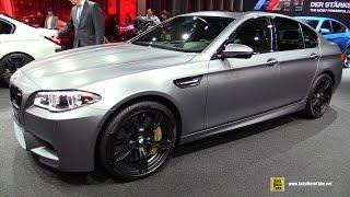 2016 BMW M5 - Exterior and Interior Walkaround - 2015 Frankfurt Motor Show