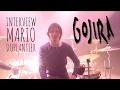 Capture de la vidéo Interview De Mario Duplantier De Gojira En Tournée Avec Zildjian Et Toontrack (La Boite Noire)