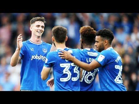 Highlights: Portsmouth 2-0 MK Dons