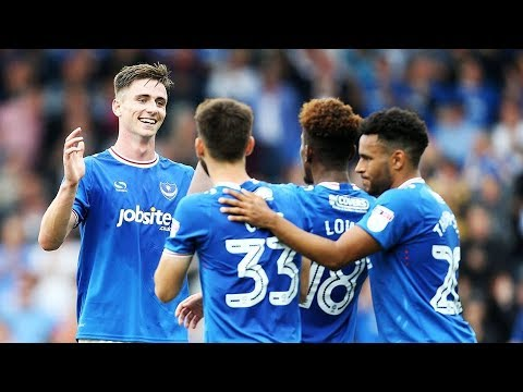 Highlights: Portsmouth 2-0 MK Dons