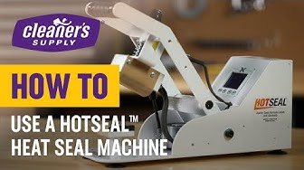 How To Use The Hotseal Heat Seal Machine