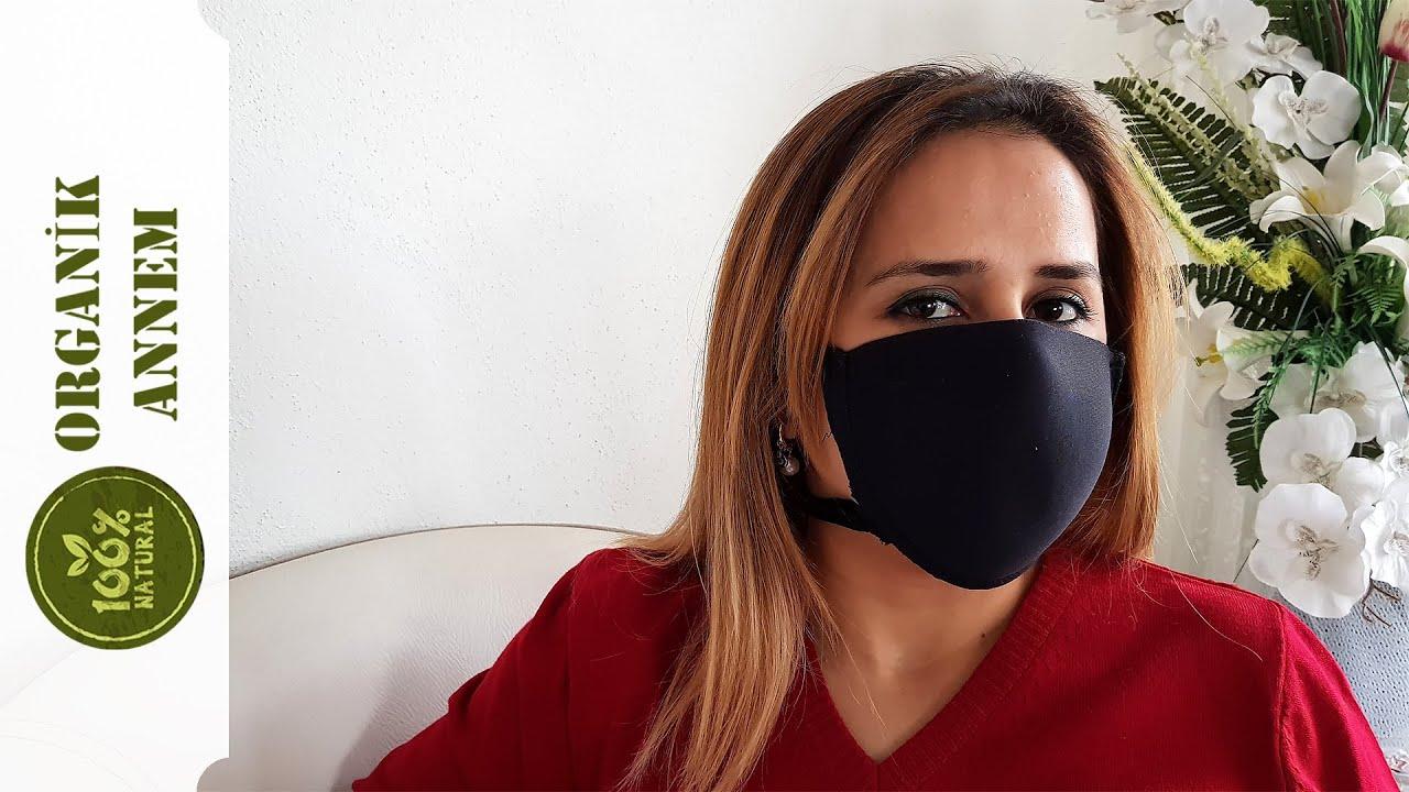 Pratik Korona Virüs Yüz Maskesi Yapımı / Diy Corona Face Mask (English Subtitle)