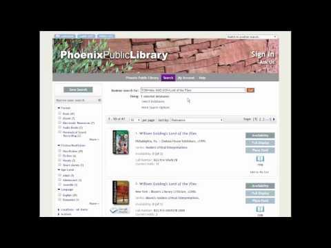 Phoenix Public Library Guided Tour