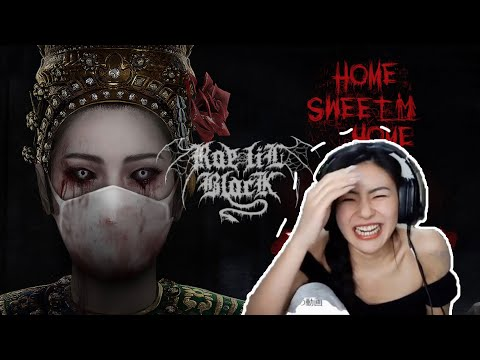 Rae Lil Black Trying HORROR GAME Home Sweet Home Highlight  