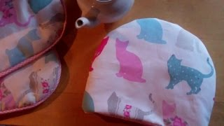 Easy Tea Cosy for you to sew by Debbie Shore