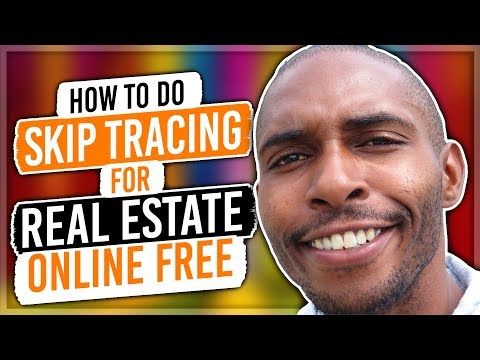 How To Skip Trace Online FREE | Wholesale Real Estate