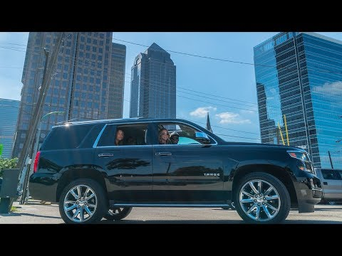 THEY GAVE ME A 2018 CHEVY TAHOE! AS MANY SPECS THAN LOGAN PAUL COOL BUS!  ***upgraded***