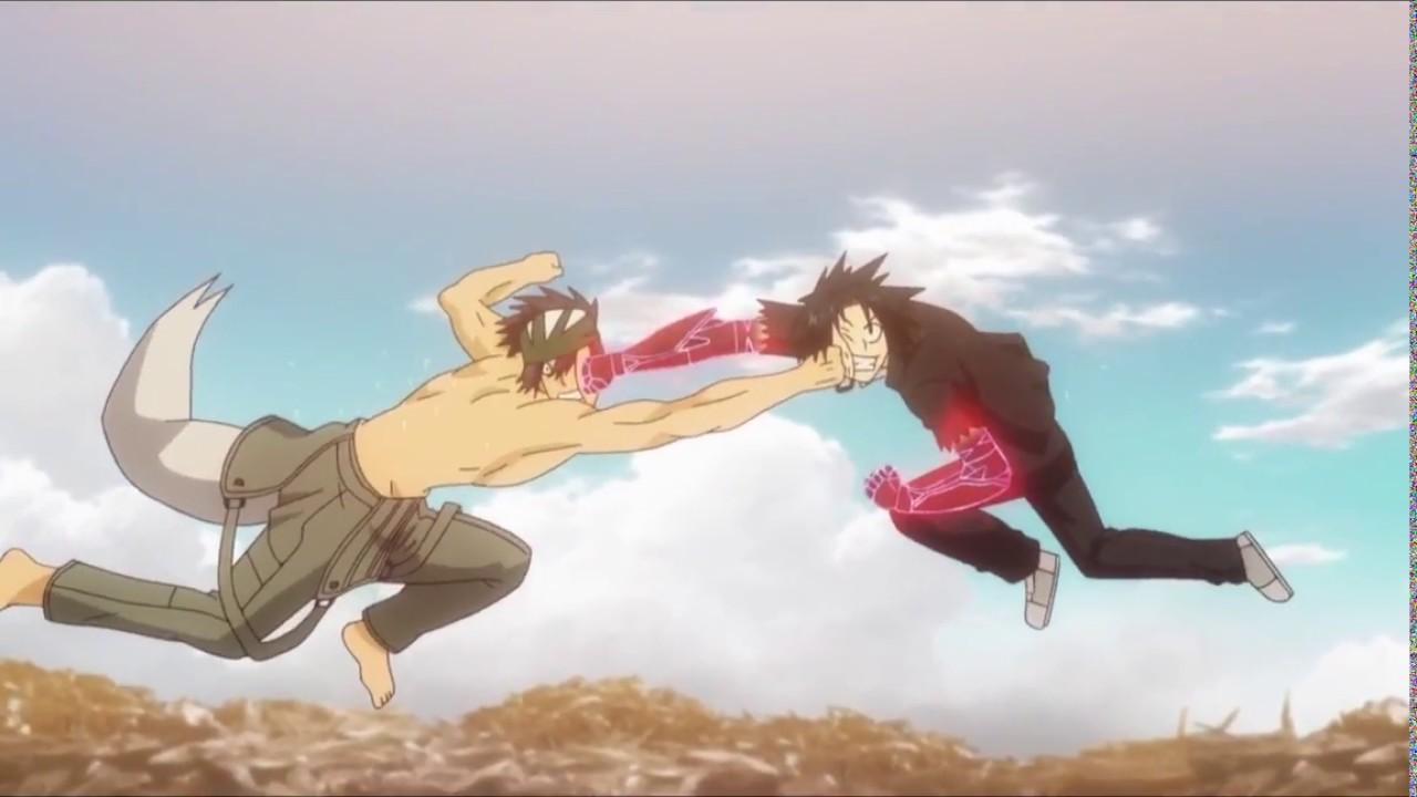 Uq Holder Ep 5 Touta Vs Kaito Epic Fight