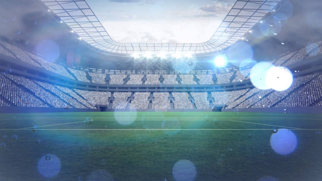 Soccer Field Footbull Animated Background Youtube